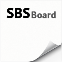 SBS BOARD GC1 в листах, 250 г/м2